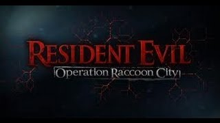 preview picture of video 'Resident Evil Operation Raccoon City'
