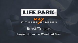 Training mit Tom 06 – Brust/Trizeps – Liegestütz an der Wand