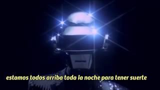 Daft Punk - Get Lucky (Subtitulado al español) VÍDEO OFICIAL HD