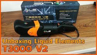 Unboxing - Liquid Elements T3000 V2 10 mm Exzenter Poliermaschine [Deutsch]