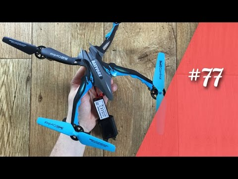 Revell Control Rayvore Quadrocopter / Drohne Test // deutsch // in 4K #77
