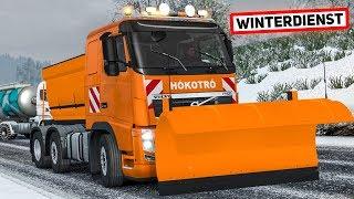 Der WINTERDIENST kommt - im Volvo durch den Schnee | EURO TRUCK SIMULATOR 2
