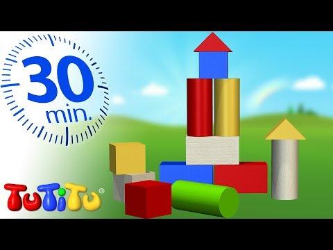 Spielzeug für Kleinkinder | Holzbausteine | 30 Minuten Spezial | TuTiTu Deutsch