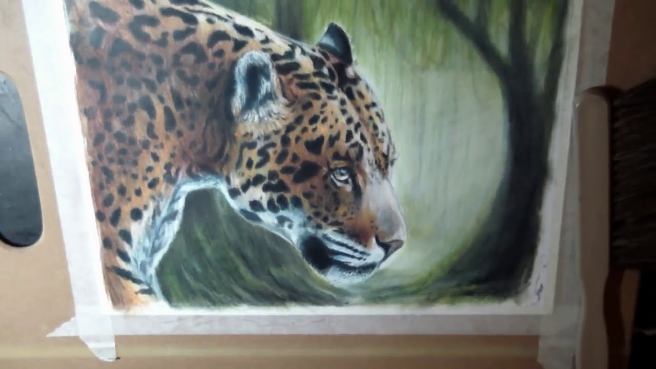 jaguar tutorial painting by lachri