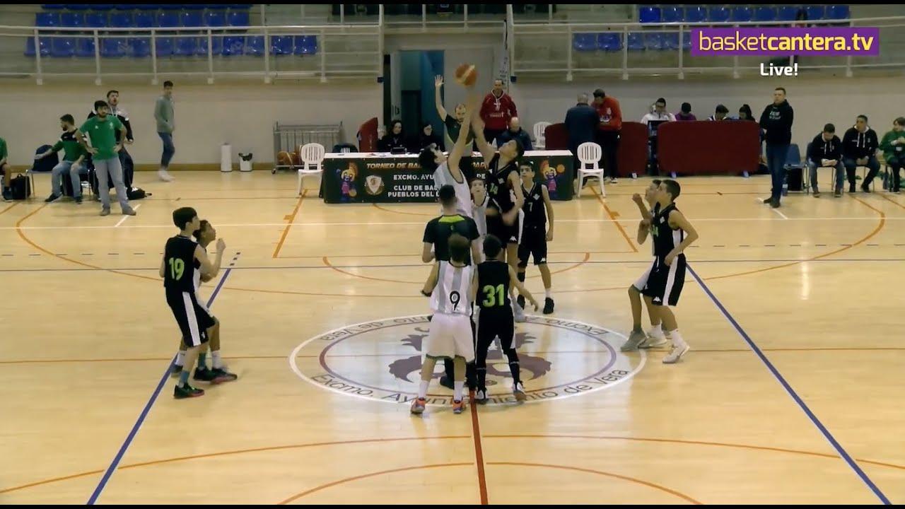 U13M - JOVENTUT BADALONA vs REAL BETIS - III Torneo Infantil Ciudad de Vera (BasketCantera.TV)