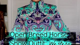 What To Wear To An Open Breed Horse Show: Western