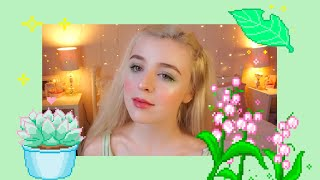 Green Summer Fairy Makeup Tutorial 🧚🏻♀️🌿 Lily Edgar