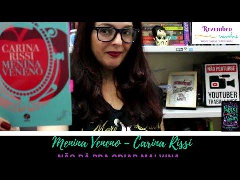 Rezembro #17 - Menina Veneno -  Editora Record |  Dicas da Sissi
