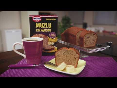 Muzlu Kek Karışımı - Banana Bread