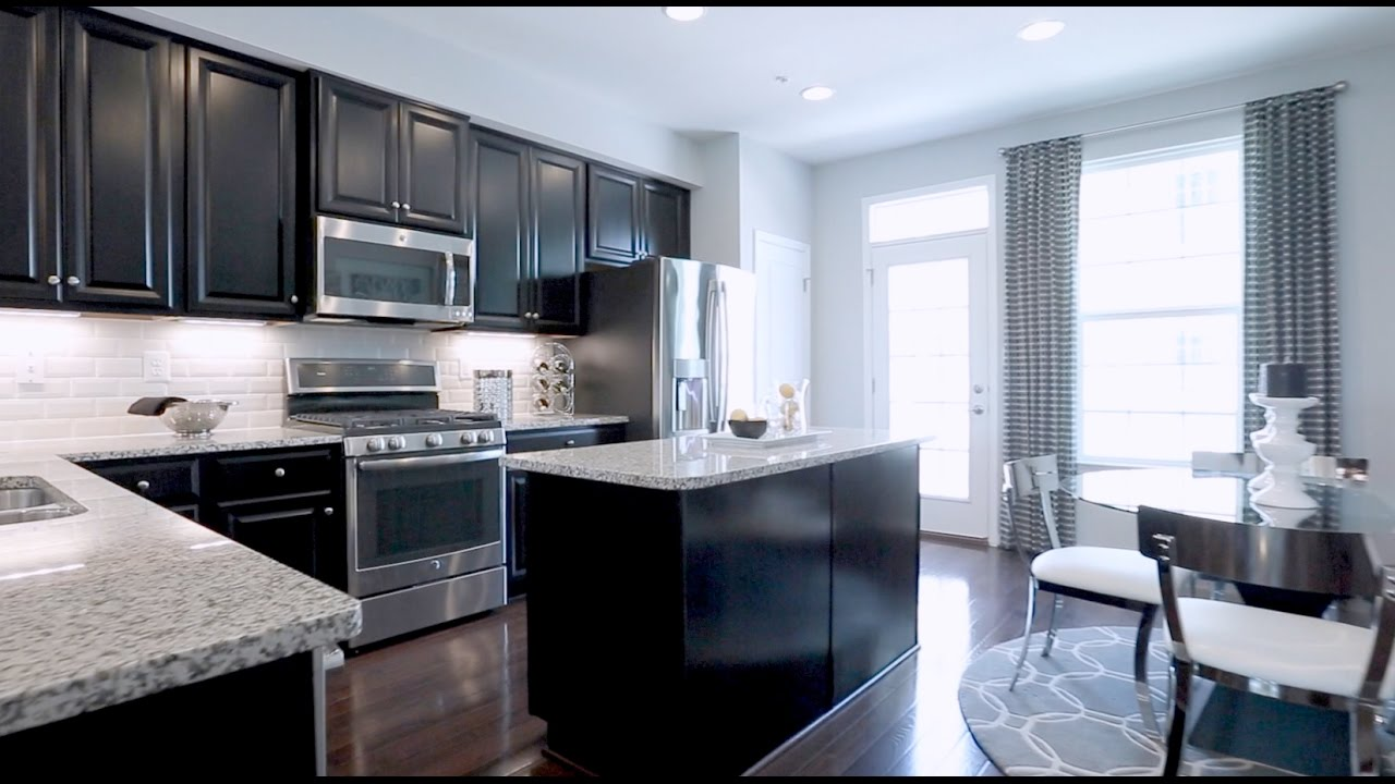New hepburn townhome model for sale at archer park in for Buy house in dc