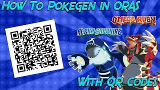 Pokemon Omega Ruby Mystery Gift Qr Codes - Gift Ideas