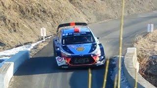 Rallye Montecarlo 2017   ACTION and PURE SOUND   HD