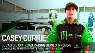 Race Weekend With Casey Currie  Lucas Oil Off Road Racing Series 2013