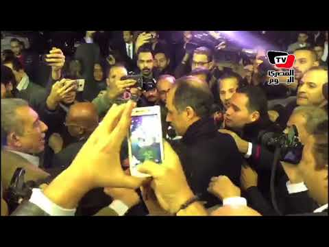 مطاردة جمال مبارك عقب مشاركته في عزاء إبراهيم نافع