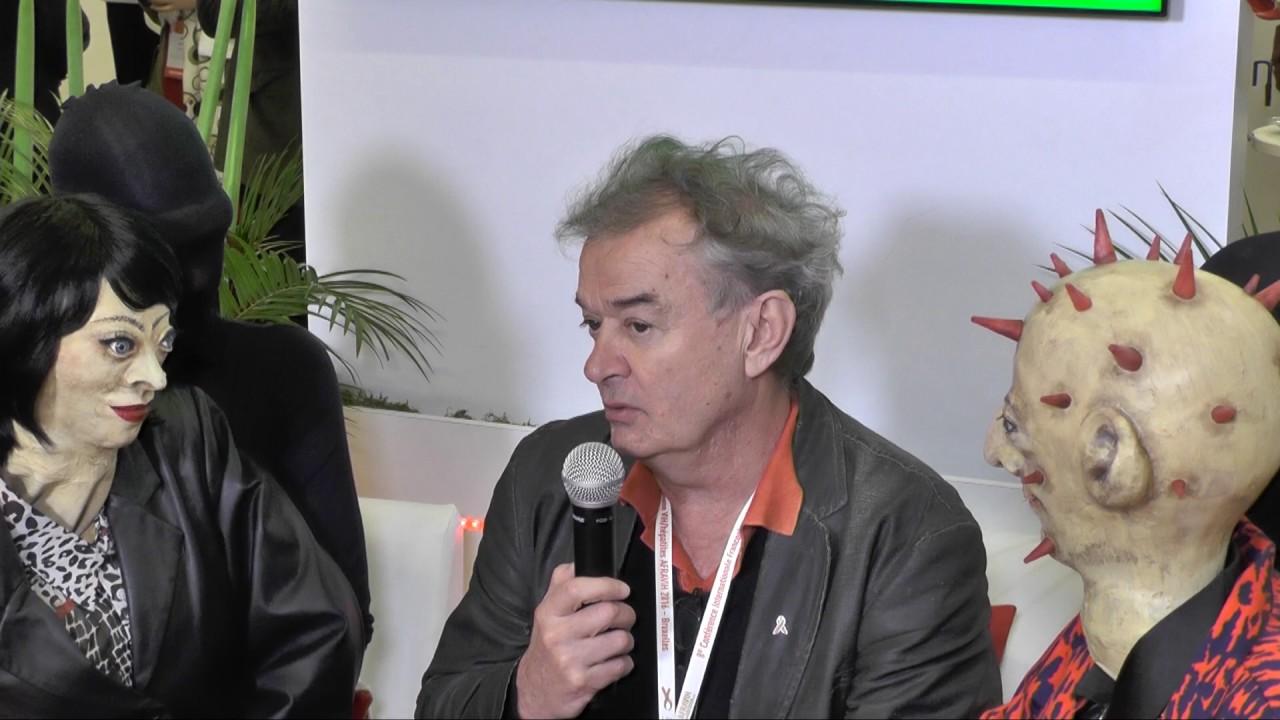 Vincent Gentil - Medecin Hospitalier - Congrès AfraVIH - Bruxelles 2016