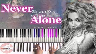 Tori Kelly   Never Alone (Live) Full 🎹 Tutorial