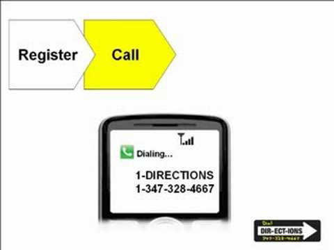 Dial Directions 411 Phone Service Automatically Beams Routes to Your Dash GPS