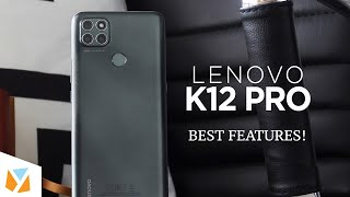 Top Features of the Lenovo K12 Pro