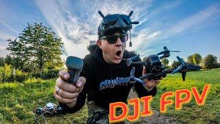 DJI FPV Drohne & DJI Motion Controller!! Mein erster Flug…