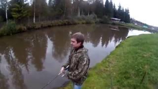 Рыбалка под тверью на платных озерах