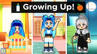Growing up in Roblox...