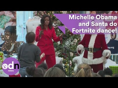 Michelle Obama Dances Again in Loose Pants… Er, Did He Go Commando This Time?