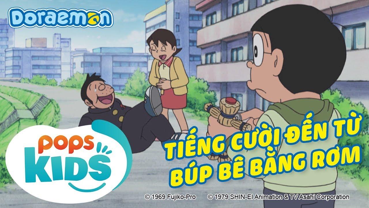 Doraemon SS7, Tập 355 - Tiếng Cười Vui Vẻ Đến Từ Búp Bê Bằng Rơm, Một Người Bạn Ốm Dài Của Nobita