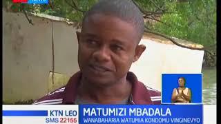 Wavuvi Mombasa watumia kondomu katika shuguli za uvuvi, vipi?