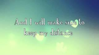 Distance- Christina Perri (with lyrics)