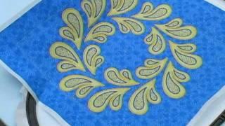 Machine Embroidery Applique 1