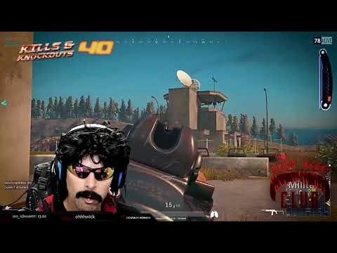 DrDisRespect's PUBG KILL COUNTER.  26 October 2017