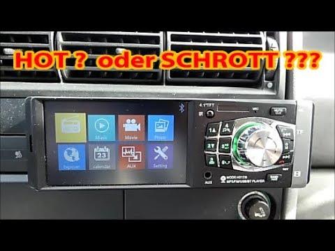 VW T4 Transporter  --  China Autoradio einbauen + kleines Review