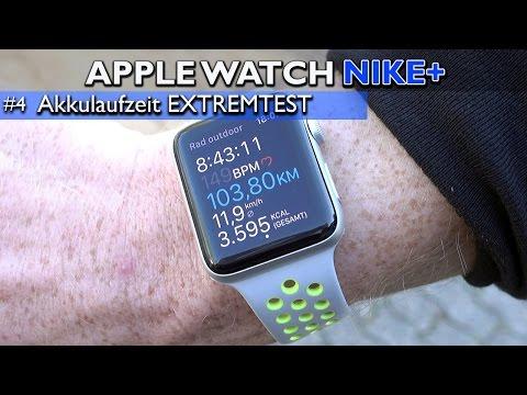 Apple Watch Nike+ im Test: Akku / Aktivität im EXTREMTEST - 100 Kilometer Radfahren in 9 Stunden #4