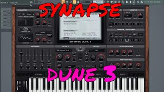 SYNAPSE DUNE 2 VST ( FACTORY PADS) WONDERFUL SOUNDS - hmong