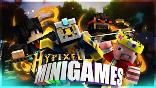 Minecraft Monday HYPIXEL! w/iTMG, ducttapedigger & More!