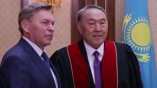 Президент Республики Казахстан Нурсултан Назарбаев стал Почетным Доктором РУДН