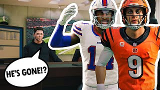 JOE BURROW AND STEFON DIGGS FIGHT TO JOIN THE DREAM TEAM!! Face of the Franchise #14