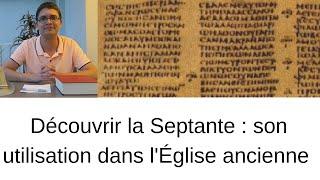 Découvrir la Septante (3) : La lettre d