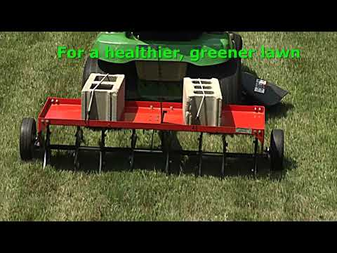 2021 DR Power Equipment DR 48 in. Tow-Behind Plug Aerator in Bigfork, Minnesota - Video 1