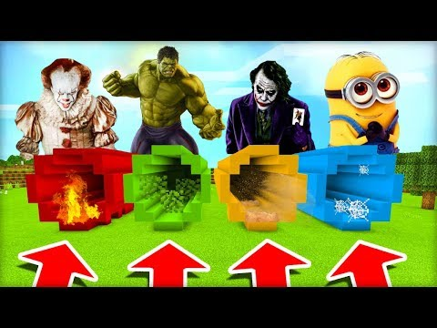 NEVYBER SI ŠPATNÝ ŠPINAVÝ KANÁL! (Pennywise, Hulk, Joker, Mimoni)