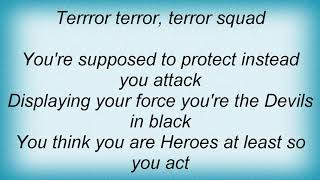 Artillery - Terror Squad Lyrics