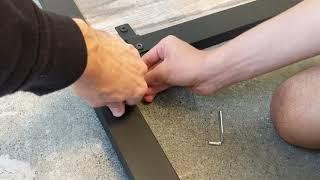 FULL METAL BED FRAME WITH HEADBOARD ASSEMBLY | HOW TO PUT TOGETHER A METAL BED FRAME