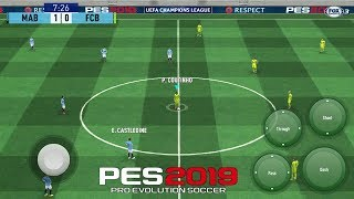 PES 2019 Mobile Patch Android 1GB [ All original Logos and Kits 18-19] Best Graphics