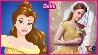 أميرة ديزني الشخصيات في الحياة الحقيقية كامل| 2018 | Princess Disney Characters In Real Life Full
