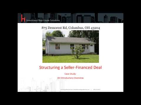 Structuring a Seller Financed Deal- A Case Study