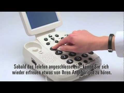 Senioren-Telefon Geemarc BDP400 Deutsch