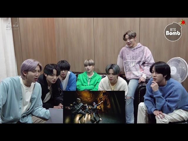 [BANGTAN BOMB] BTS 'Black Swan' MV reaction - BTS (방탄소년단)