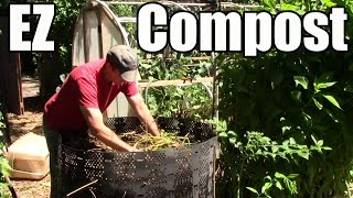 How to Make EZ Compost from Free Local Resources!