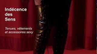 Tenue Sexy : Cuissardes Hautes BarBarella à Lacets