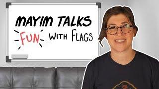 Talking Fun With Flags on The Big Bang Theory | Mayim Bialik